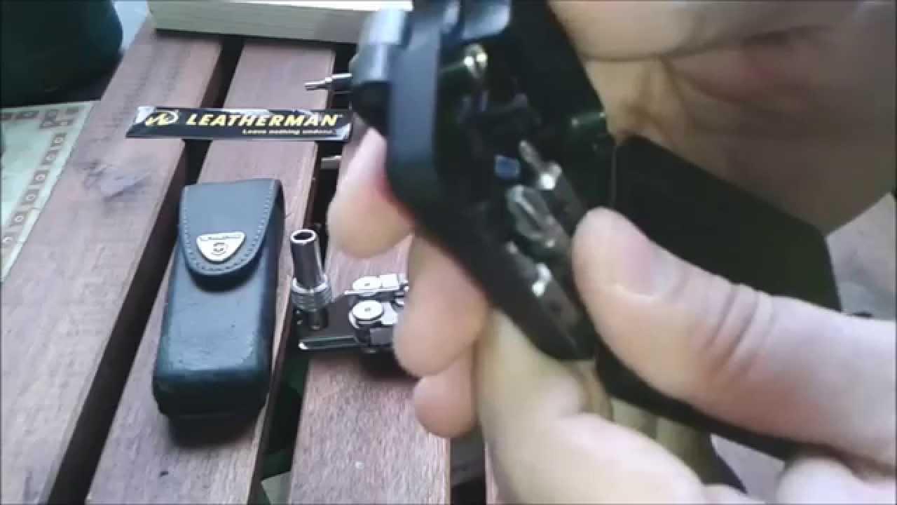 Leatherman Wave Tool Adapter German Deutsch Youtube
