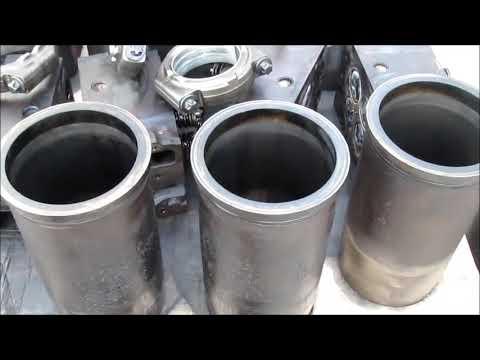 Motor MAN TGA- D 2866 engine repair
