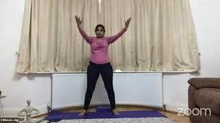 17-03-2021 - Hatha Yoga With Bhavnaben Jogi