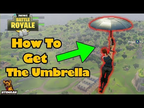How To Get The Umbrella In Fortnite Battle Royale