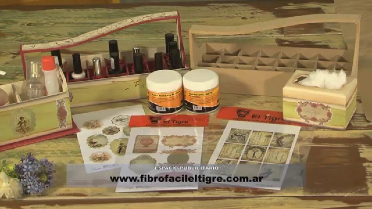Tecnicas De Pintura Craquelado Flotado Decoupage Fibrofacil