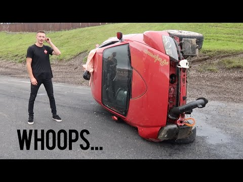 How I Totaled an RX8 in Scotland...