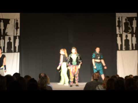 Zoe Beck DESIGNER- Tauranga Girls College Fashion Show 2015