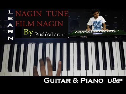 NAGIN TUNE | PIANO TUTORIAL | HOW TO PLAY NAGIN TUNE ON PIANO| EASY PIANO TUTORIAL OF NAGIN TUNE
