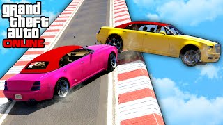 GTA 5: Online - Funny Moments & Fails feat. Custom Game Modes(Welcome to the new episode of GTA 5 FUNNY MOMENTS, STUNTS & FAILS! To see more of our GTA 5 Stunts & Funny Moments, make sure to check out my ..., 2016-08-25T21:28:09.000Z)