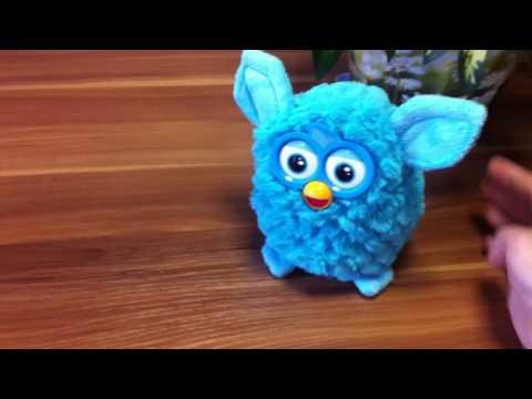 Ферби - обзор на говорящую игрушку Furby.