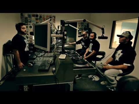 Witten Untouchable Radio-Interview #1 bei Extralarge (Lakmann, Mess, Kareem, Rooq))