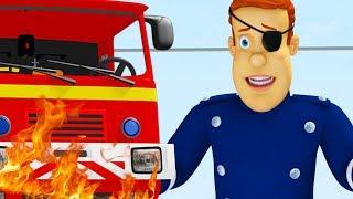 Sam le Pompier francais | Les meilleurs sauvetages de l'équipe | 1h Compilation | Dessin animé