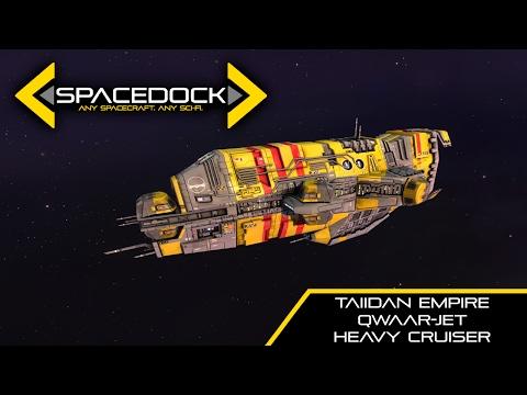 Homeworld: Taiidan Qwaar-Jet Class Heavy Cruiser - Spacedock