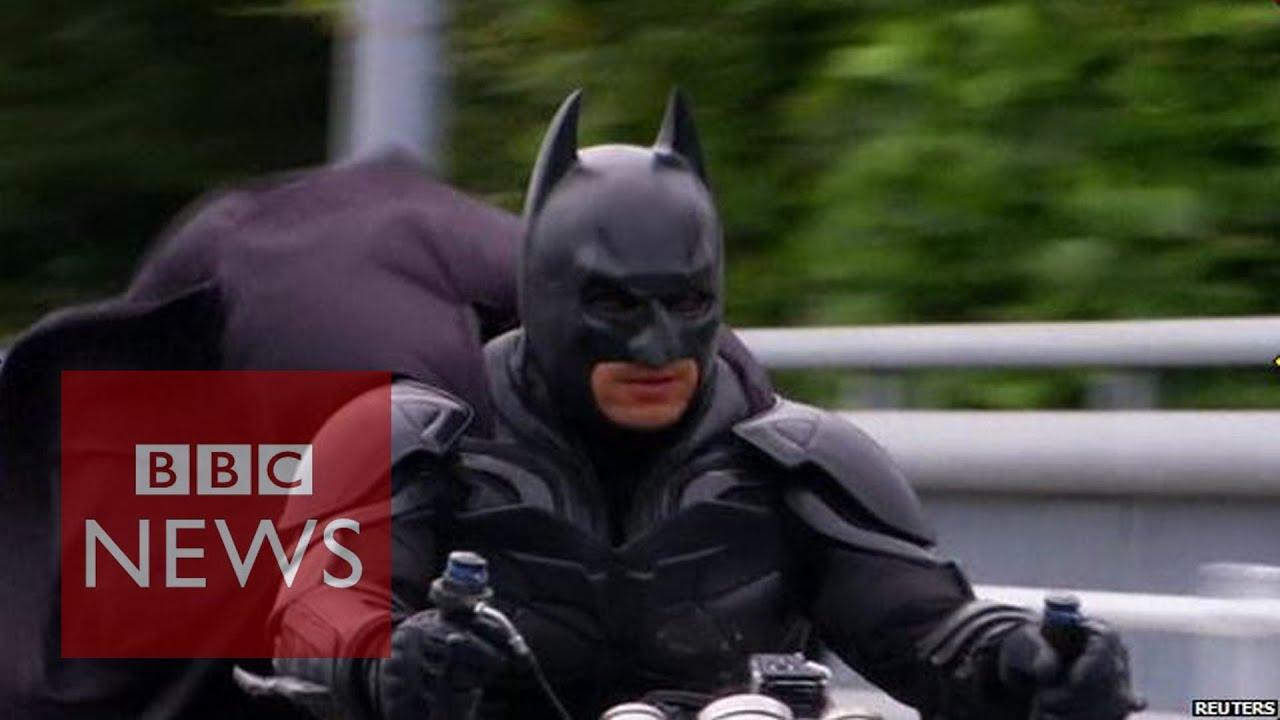 meet japan s batman chibatman a real life dark knight bbc news