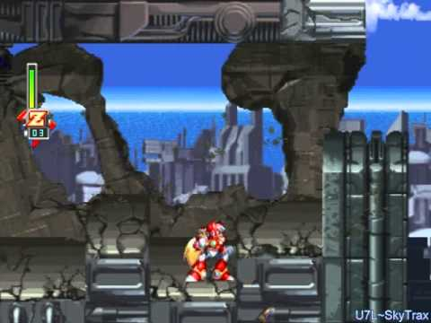 Megaman X5 - Zero - Sigma's Head: Eurasia City(Beginning)