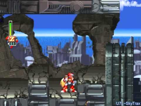 Megaman X5 - Zero - Sigma's Head: Eurasia City(Beginning)