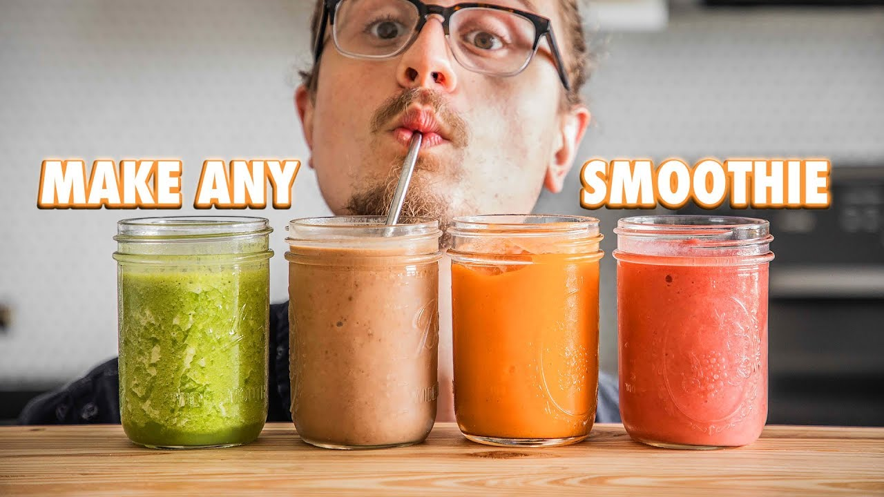 The Easy Guide On Making Just About Any Smoothie