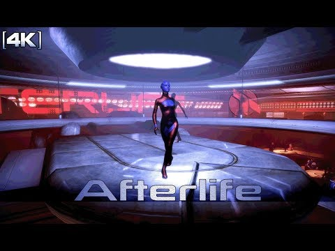 Mass Effect 2 - Omega: Afterlife Lower Level (1 Hour of Music) [4K]