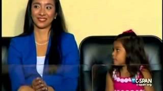 Julian Castro's Daughter Carina Victoria Castro at the DNC Convention