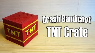 Soaches Builds! - TNT Crate from Crash Bandicoot