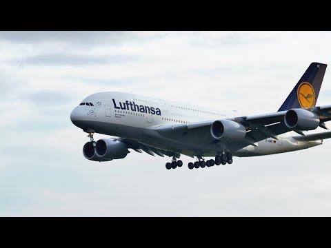 4K Frankfurt am Main Airport Planespotting gefilmt mit der Panasonic Lumix G 70