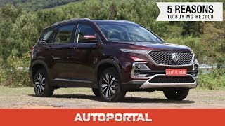 MG Hector - Top 5 Reasons To Buy One