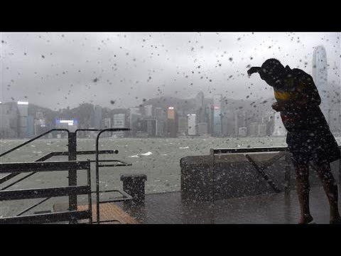 Deadly Typhoon Hato Hits Hong Kong and Macau