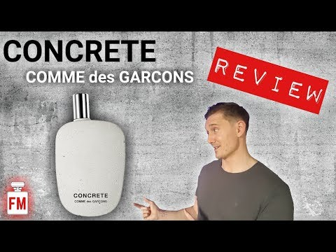 CONCRETE by Comme des Garcons Fragrance Review + GIVEAWAY!