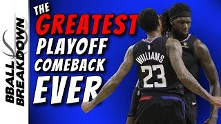 Clippers at Warriors Game 2: The Greatest Playoff Comeback Ever?