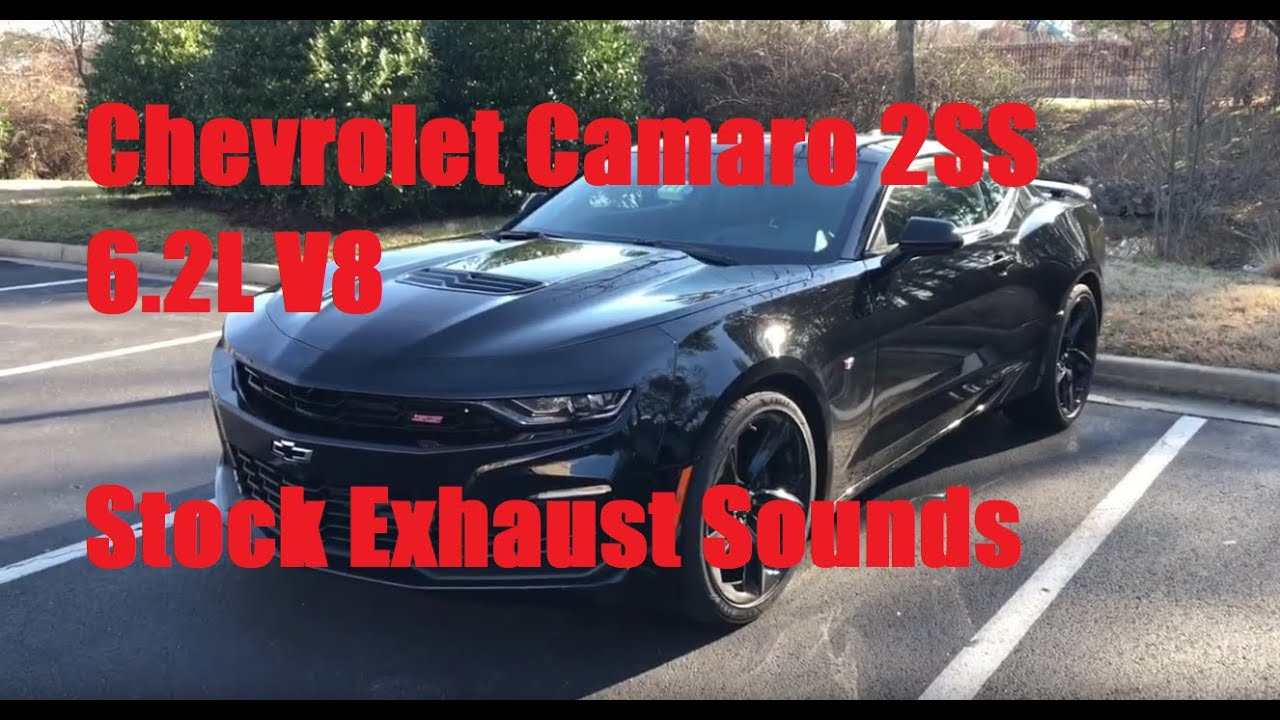 2019 chevrolet camaro ss 2ss 455hp stock exhaust sounds startup idle rev drive