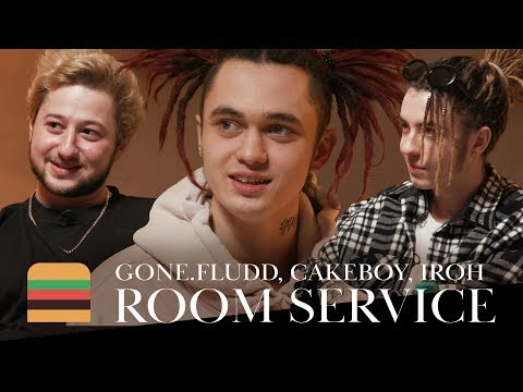 Room Service: GONE.Fludd, CAKEBOY & IROH