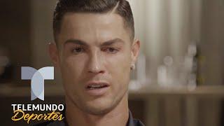 Cristiano Ronaldo rompe en llanto al ver un video de su padre | Telemundo Deportes