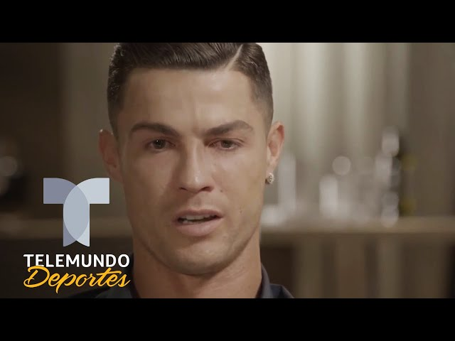 Cristiano Ronaldo rompe en llanto al ver un video de su padre   Telemundo Deportes