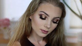 GRWM: Bronze & Gold Party Makeup  | Lastdream