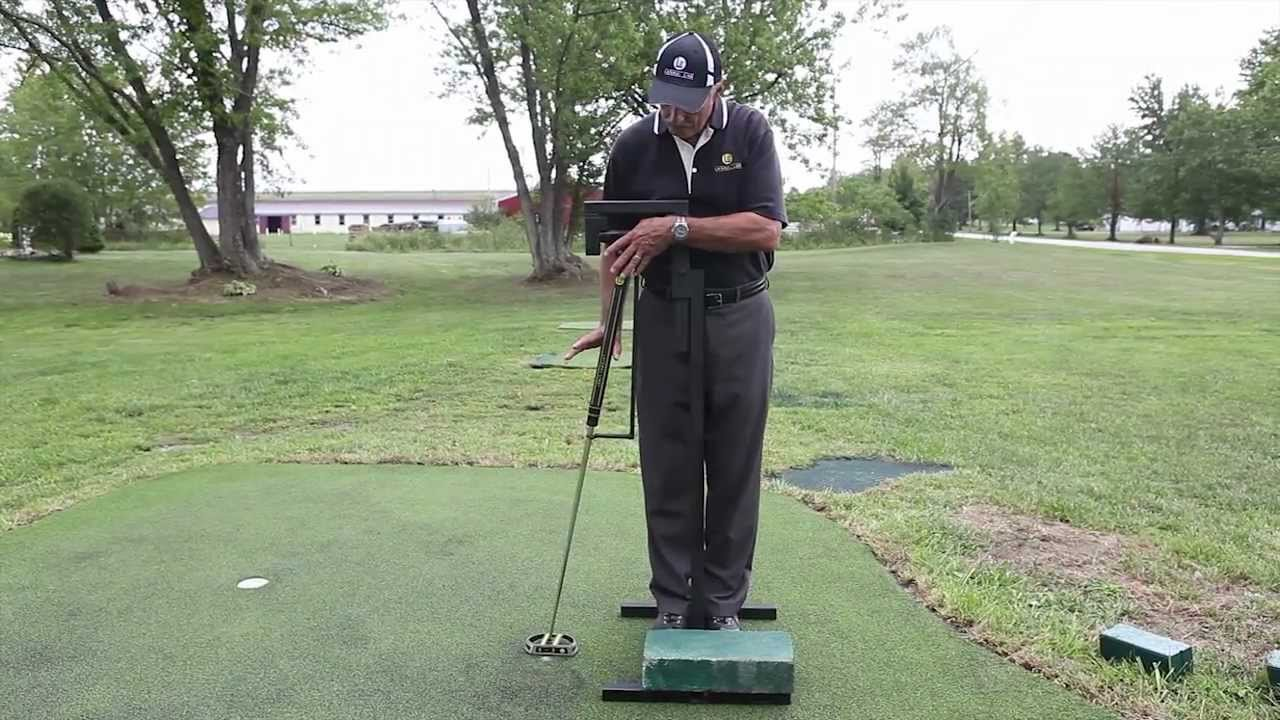 Sidesaddle Or Side Saddle Putting Stroke Tutorial The