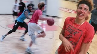 One of CashNasty's most viewed videos: DEFENDING LAMELO BALL IN REAL LIFE BASKETBALL ! 5V5 Chino Hills Players