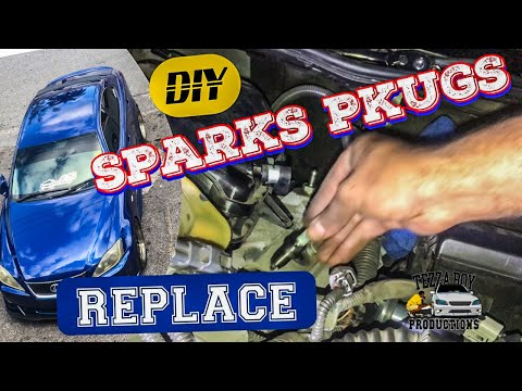 LEXUS IS250 Sparks Plugs Replace(DIY)
