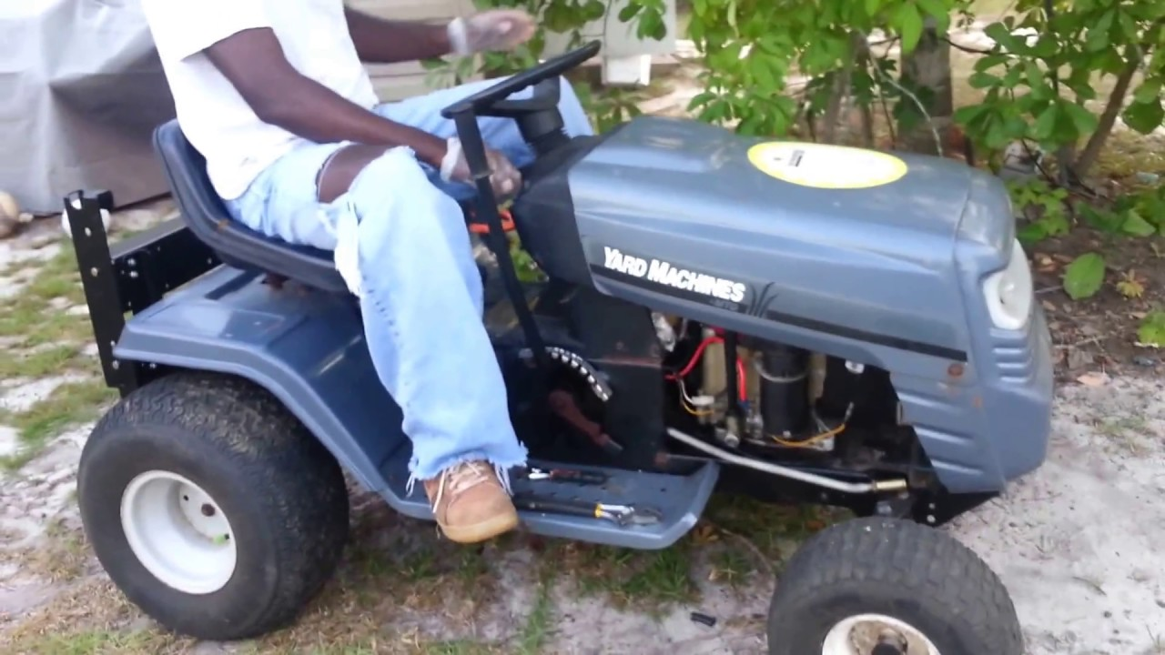 mtd yard machine lawn tractor 20 5 hp starting wiring wiringrepair tested mtd yard machine lawn [ 1280 x 720 Pixel ]