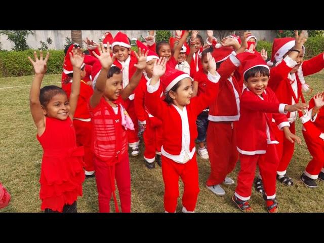 Christmas Celebration (Pre-Primary Section) @THE RADIANT INTERNATIONAL SCHOOL