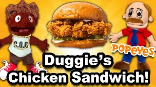 SML Movie: Black Yoshi's Chicken Sandwich!