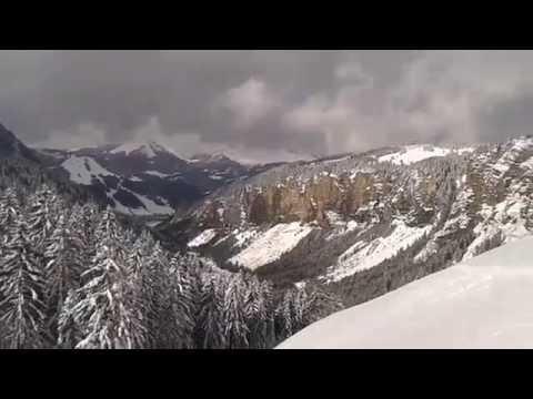 Guide ski hors-piste Avoriaz Pointe de Chésery