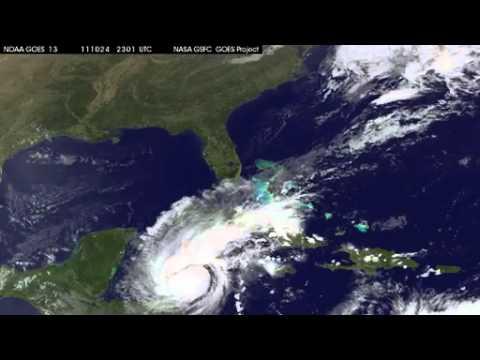 Hurricane Rina Headed to Mexico Oct 25, 2011