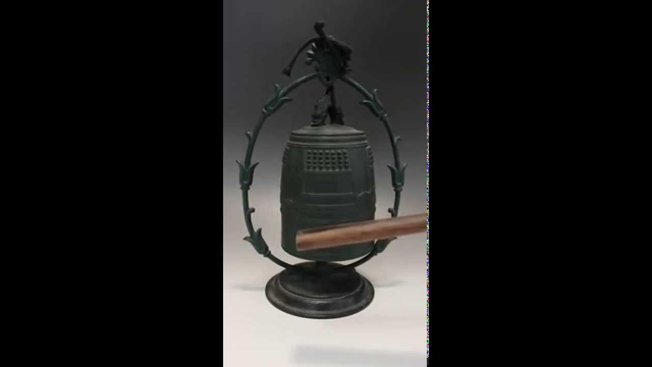 Download KINJUDO Japanese Yakushi-ji Temple Buddhist Bronze Bell / Vajra Buddhism