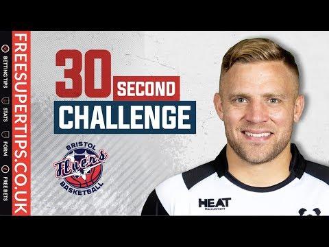 Bristol Flyers 30 second challenge - Ian Madigan