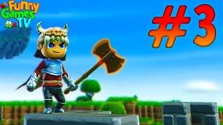 похожий на Minecraft про Рыцарей Порталов игра Portal Knights видео