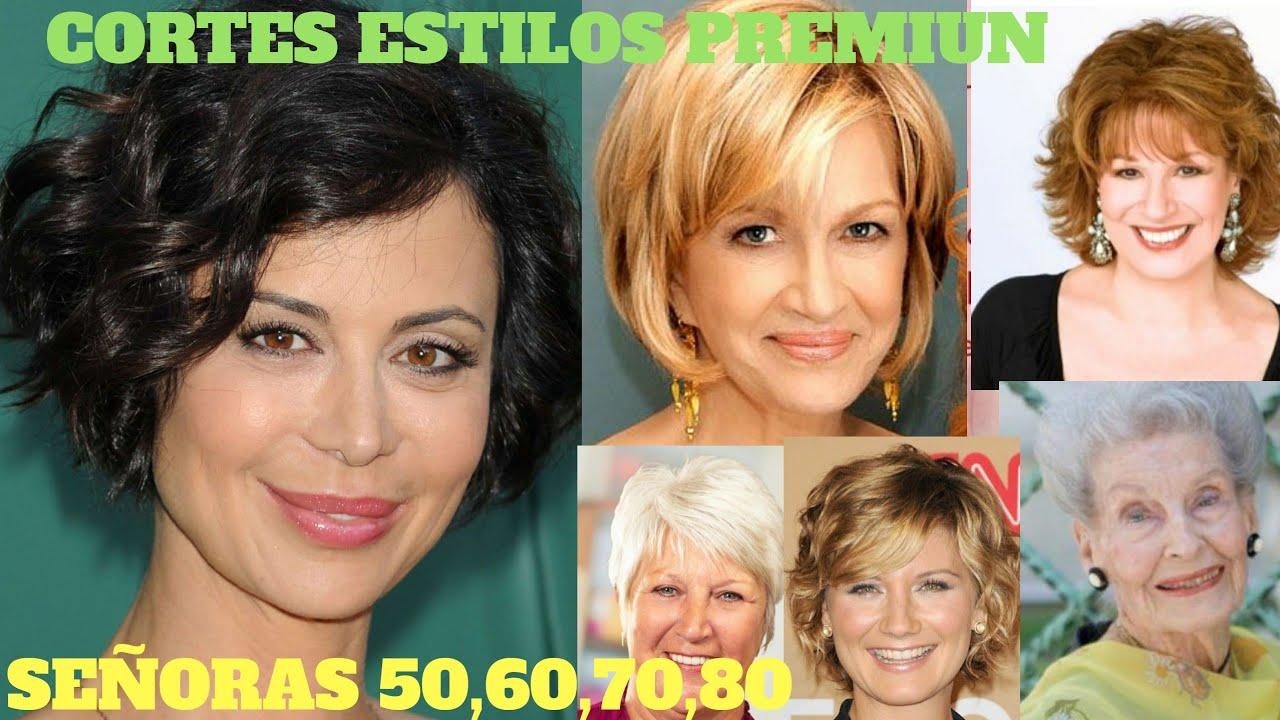 ☆Cortes de PELO 2020☆ ESTILOS PREMIUN 50,60,70,80+,Cortes de cabello  Mujer 2020