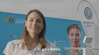 Sara Isakovič teče s srcem - Volkswagen Ljubljanski maraton