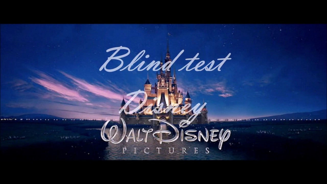 Blind test Disney