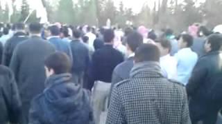 الباب :: تشييع الشهيد علاء الدين العلي 22-3-2012م جـ2