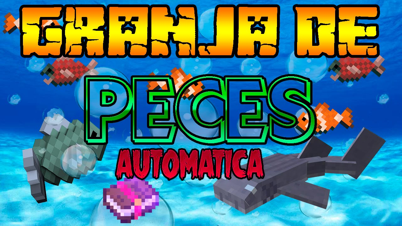 Minecraft xbox tutorial granja de peces autom tica for Granja de peces