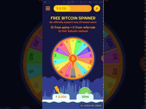 Repeat Free Bitcoin Spinner Auto Withdrawal Proof by Gopal