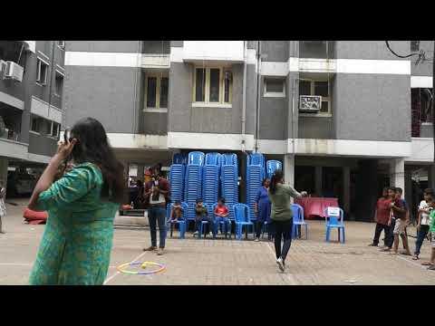 MC Lambo Kanna & MC Meena Conducted Ball Game For Kids At Sneham Apartment Day 2019,Chennai