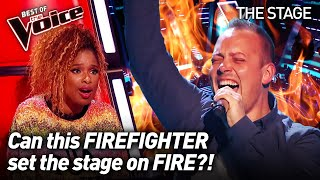 Mike Platt sings 'Show Me Heaven'  by Maria McKee | The Voice Stage #16