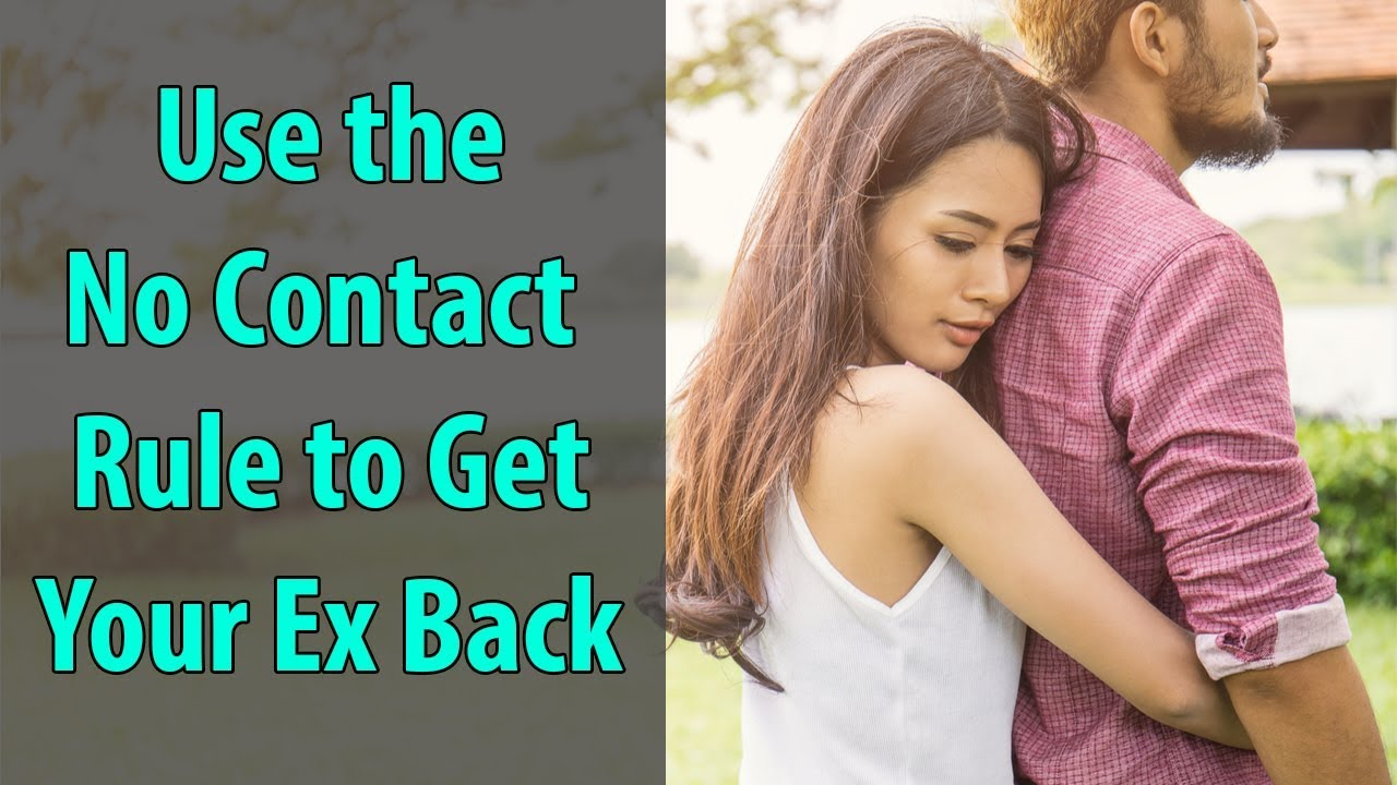 No contact rule when ex is dating